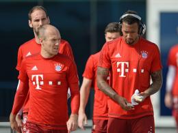 Drei Ausfälle beim FCB - Boateng, Robben und Coman zurück