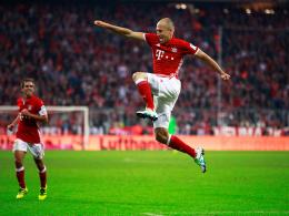 Robben-Comeback mit Tor und