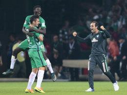 Werder gelingt Befreiungsschlag am Tag der späten Tore