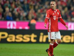 Hat wieder großen Spaß am Fußball: Bayerns Antreiber Franck Ribery.