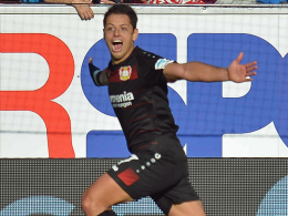 Drei Tore! Matchwinner Chicharito ganz bescheiden