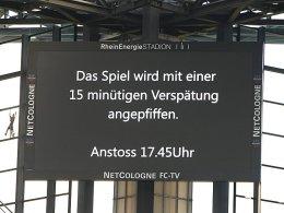 Sitzblockade: FC-Fans stoppen Leipziger Bus