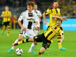 """""""Ein super Zweikämpfer"""": Freiburgs Youngster Caglar Söyüncü (li.) überzeugte in Dortmund."""