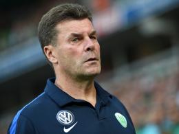 """""""Es hat jeder gesehen, dass das keine Leistung war"""": Wolfsburgs Trainer Dieter Hecking."""
