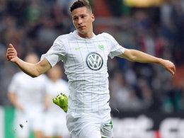 Von Wolfsburger Manager Klaus Allofs gelobt: Julian Draxler.