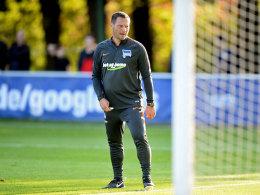 """Will gegen den HSV einen """"guten Start"""" festmachen: Hertha-Coach Pal Dardai."""