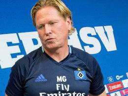 """Der Kopf rattert"": Hamburgs neuer Trainer Markus Gisdol."