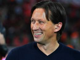 Will den Ansprüchen gerecht werden: Leverkusens Trainer Roger Schmidt.