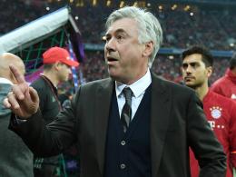 Ancelottis Rechnung: Erst drei Punkte, dann drei Maß