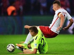 Bilder: FCA hartnäckig - aber Leipzig obenauf