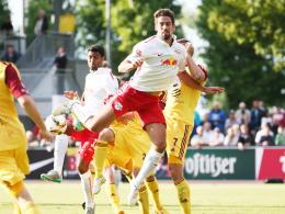 Leipzig gewinnt Test gegen Dukla Prag