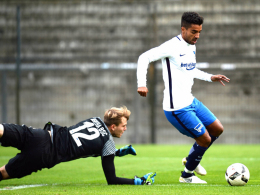 Herthas Allagui trifft im Trainingsspiel doppelt