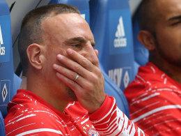Ribery fehlt Bayern mehrere Wochen