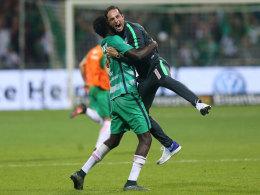 Alexander Nouri und Ousman Manneh