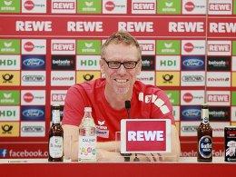 Stöger wundert sich über Kölner Meisterwette