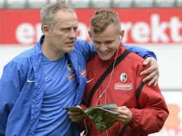 Christian Streich und Jonathan Schmid