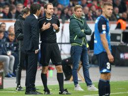 Schmidt beschimpft Nagelsmann - Völlers Rückendeckung
