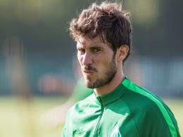 Pokerface? Werder Bremens Linksverteidiger Santiago Garcia.