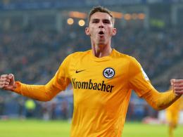 Überzeugte als einzige Sturmspitze: Eintracht Frankfurts Branimir Hrgota.