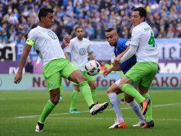 Er nimmt die Mannschaft in die Pflicht: Luiz Gustavo (li).