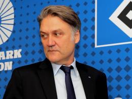 Ihm droht zumindest eine Teil-Entmachtung: Dietmar Beiersdorfer, Vorstandsvorsitzender des HSV.