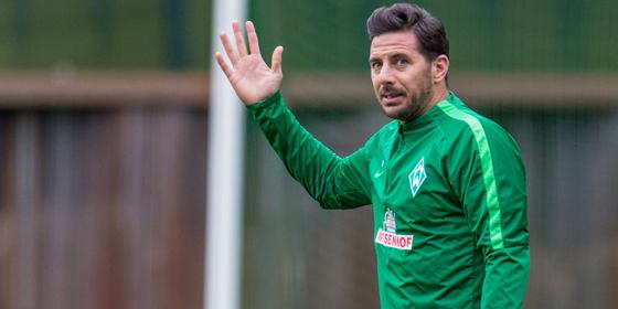 Steht eventuell gegen Frankfurt wieder auf dem Platz: Werder Bremens Torjäger Claudio Pizarro.