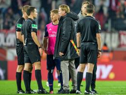 Hamburg hadert mit Spielverlauf und Schiedsrichter