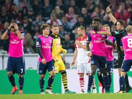 Nach Tätlichkeit: HSV-Stürmer Wood für drei Spiele gesperrt