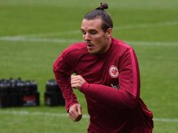 Eintracht: Meier wieder im Mannschaftstraining