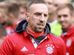 Wie geplant: Ribery zurück im Mannschaftstraining