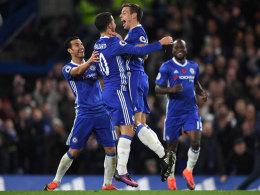 Wie entfesselt! Chelsea nach 5:0 auf Platz 1
