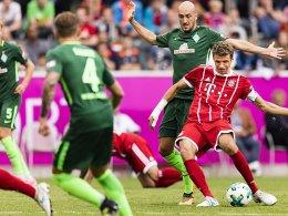 Bayern gewinnt mit James und dank Müller
