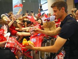 FC Bayern: Landung in einer anderen Welt