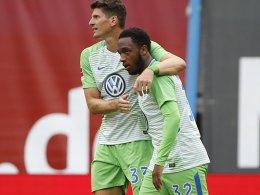 Wolfsburg gewinnt in Rostock dank Hinds