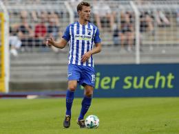 Pause bis Donnerstag: Langkamps Wade zwickt