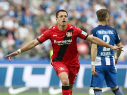 Ab nach London: Chicharito verlässt Leverkusen