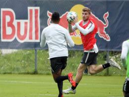 RB: Keine Sorgen bei Keita - Werner ist zurück