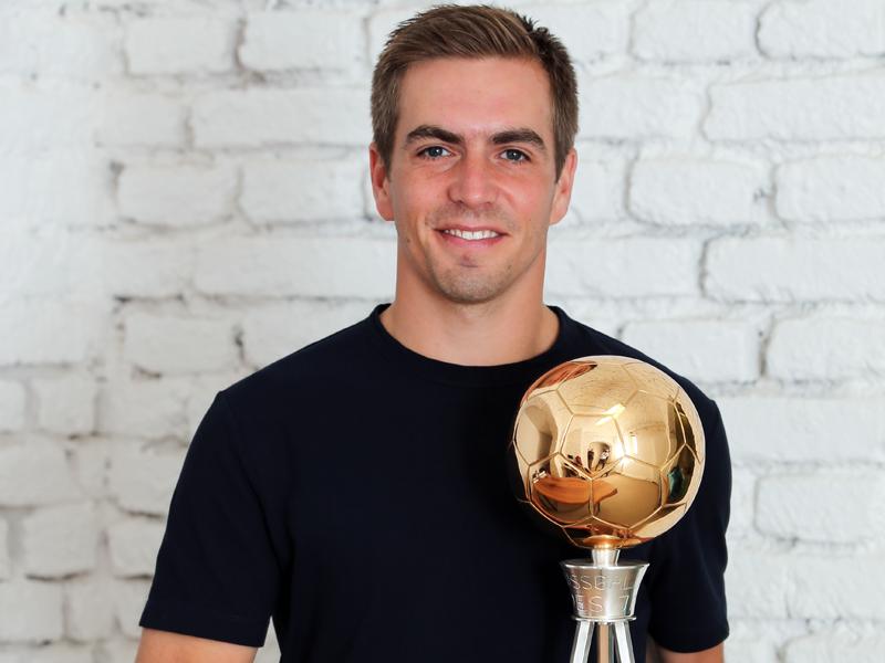 Lahm ist Fußballer des Jahres 2016/17