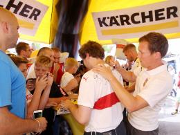VfB: Premium-Partner Kärcher verlängert