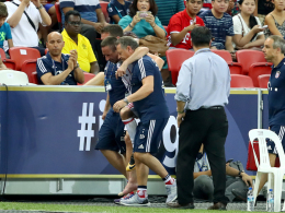Entwarnung: Ribery fällt