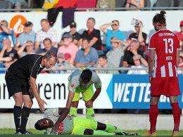 Köln in Unterzahl 1:1 - Cordoba und Nartey verletzt