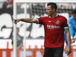 Hannover-Coach Breitenreiter macht Prib zum 96-Kapitän