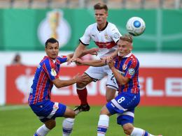 VfB-Trainer Wolf: Für Burnic war es