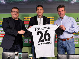 Eberl verspricht: Bobadilla