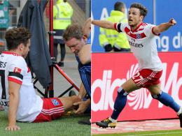 Bei Torjubel: Müller verletzt sich am Knie