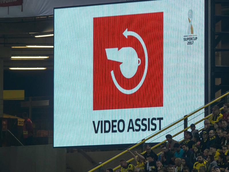 Technische Probleme beim Videobeweis - DFL sauer