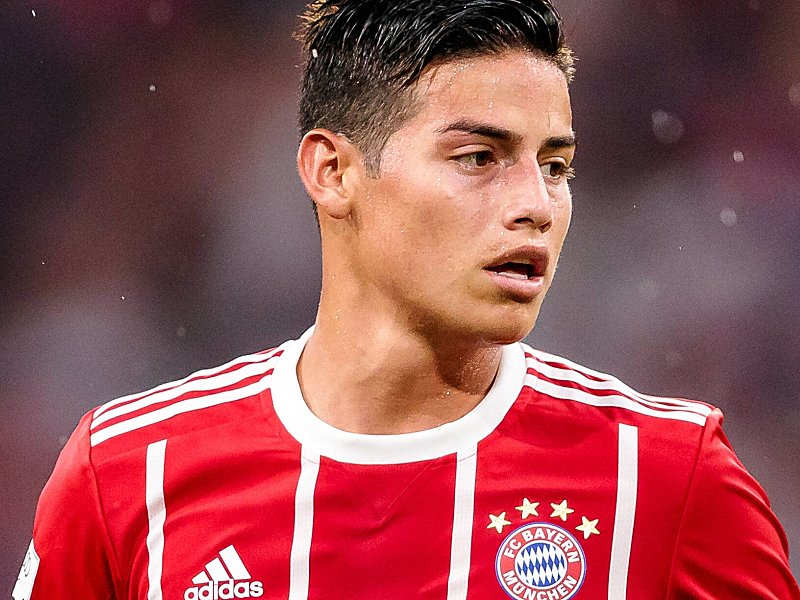 Reist zu Kolumbiens Nationalelf Bayern Akteur James Rodriguez