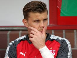 Langerak beim VfB vor dem Absprung