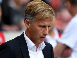 Wolfsburg trennt sich von Trainer Jonker
