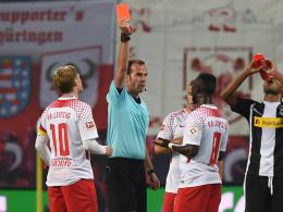 Leipzigs Keita nach Rot für drei Spiele gesperrt
